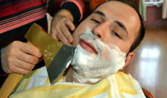 Male themed hair salons