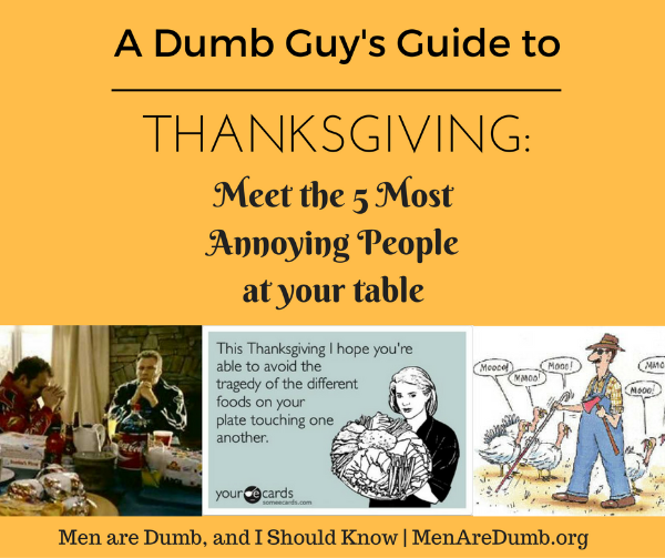 5 most annoying people at Thanksgiving